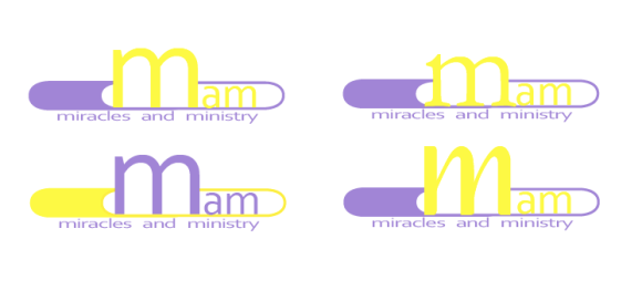 personal logo design-mam (miracles and ministry)