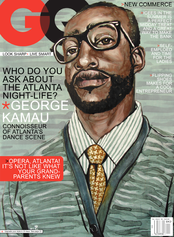 Magazine covers sunflowerman for Gq magazine cover template