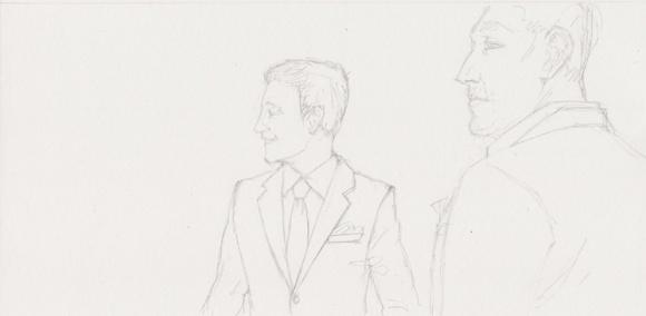 fashion sketch men