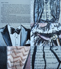 Book Page Fashion Illustrations