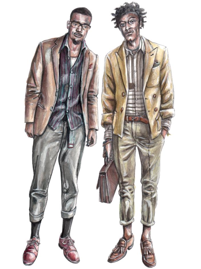 Men fashion illustration - photo#7