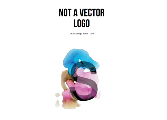 Not A Vector Logo